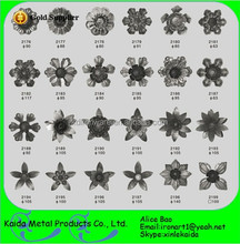wholesale cast iron & wrought iron metal leaves and flowers