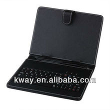 Universal USB Keyboard Leather Case Cover for 8 inch Tablet PC with 2.0/Mini/Micro USB Port