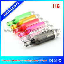 reusable e cigarette ego tank america best selling h6 clearomizer