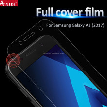 Suitable for all curved phones!! anti-shatter HD screen protector for Samsung A3 2017