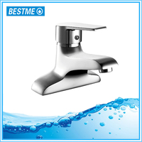 Bathroom deck mounted single lever wash tapware with high quality