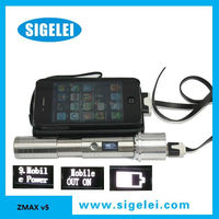 2013 hot seller new design huge smoke electronic cigarette sigelei zmax v5