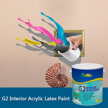G2 washable wall paint