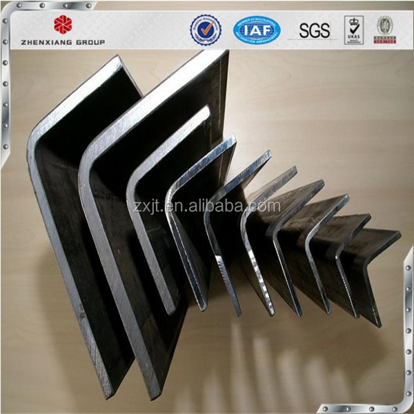 S235/ S355 /SS400/Q195-Q235 hot rolled Angle Iron / Equal Angle Steel / Steel Angle Price standard galvanized equal steel corner