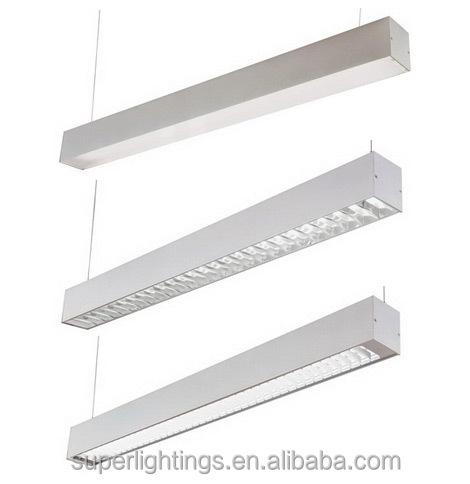 Aluminum Silver Led Tube Light Office Hanging Light Buy Office