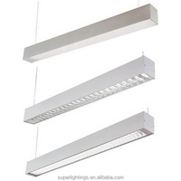 Aluminum Silver Led Tube Light Office