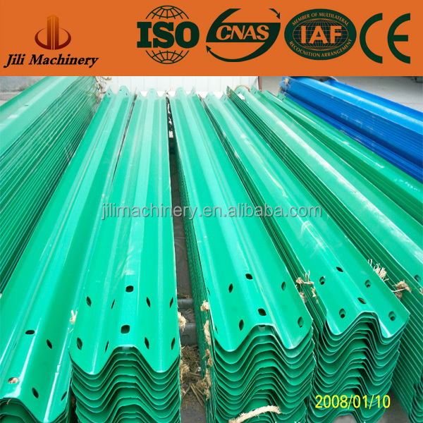 China Supply Plastic Coated Guardrail used for Traffic Security