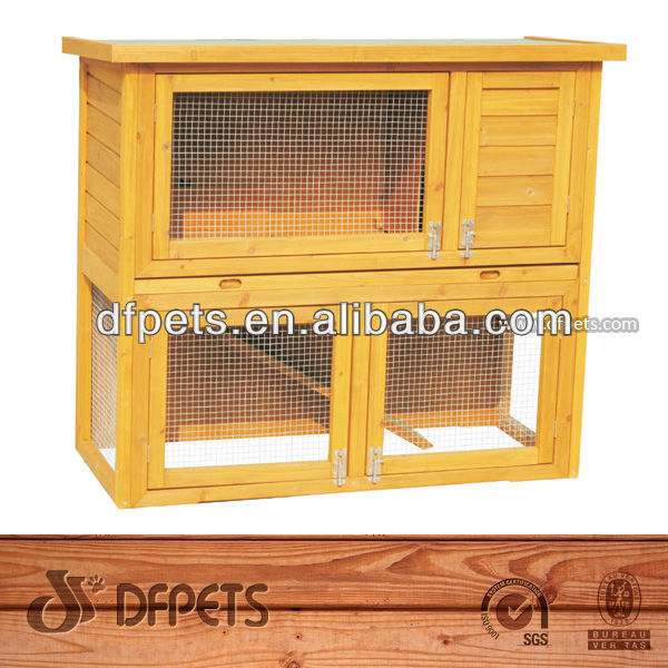 Indoor Wooden Rabbit Cages DFR029