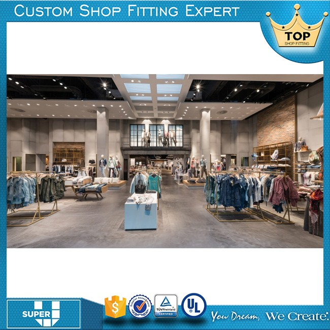 New design lady retail shop clothes shop display