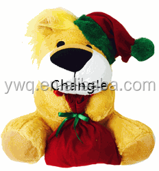 new year gift plush teddy bear teddy bear voice recorder