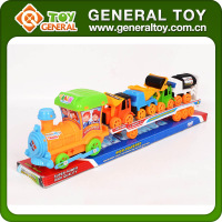 Small Plastic Friction Power Train Toy