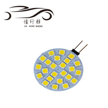 Super Bright G4 24SMD 5050 Bulb Lamp Warm White Car Cabinet Boat Living Room Lamps 12V 6000K