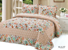 Embroidery Microfiber Quilt