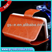 Universal Leather Case for Samsung S4 S3 iPhone 5 iPhone 4 4S
