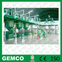 1-200 ton per day oil refining process for sale oil press line on option in China