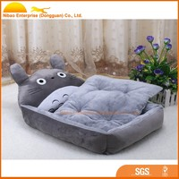 2015 funny animal shaped plush pet dog bed