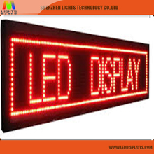 P10 Monochrome LED display modules easy installation and decoration of store shop bar streets build instruction advertising
