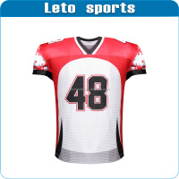 custom fashion design 3D printing american football jersey
