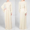 Wholesale oem 2014 new design long sleeve women kaftan maxi dress
