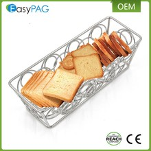 Wholesale Newest Design Metal Wire Bread Basket