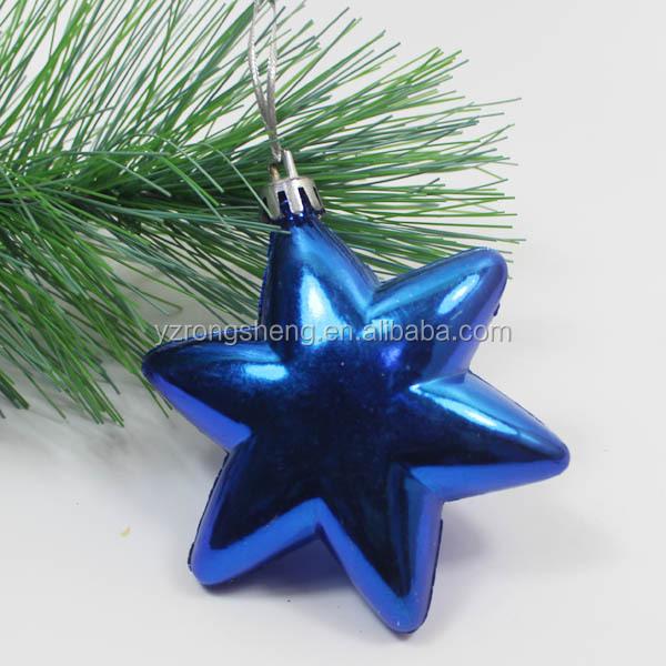 Outdoor christmas tree hanging plastic star big lots
