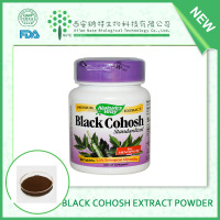 Golden suppliers provide black cohosh extract Triterpenoid saponis powder 2.5% 5% 8%