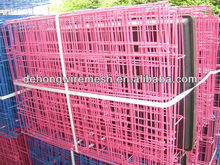 Dehong pvc coated metal dog cage /metal pet house/animal cage