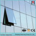 Hidden Frame Double Glass Curtain Wall Price