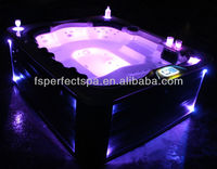 Acrylic outdoor spa jacuzzi functional prices products