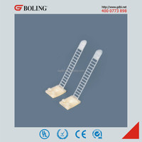 adjustable cable clamp, self adhesive tie mount