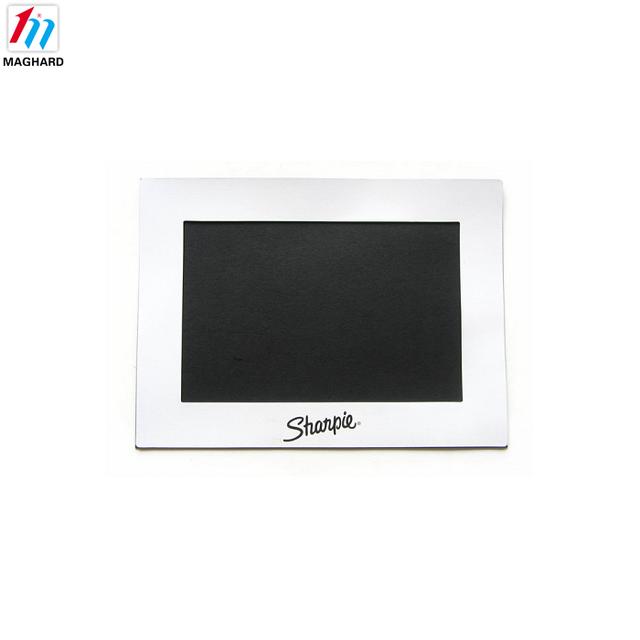 Customized fridge magnet paper magnetic photo frames for promotional gift