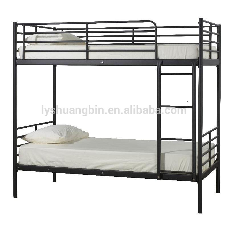Latest Designs Heavy Duty Steel Army Double Metal Bunk Bed