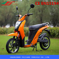 Fujiang electric motorcycle with 48v 500w rear motor 12AH Lead-Acid battery