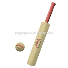 New products 2017 low price best thick edge custom logo wood tennis ball cricket bat in red grips wholesale made in china