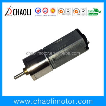 4.5V Ordinary spur gear motor CL-G12-FN20 for monitor micro machine