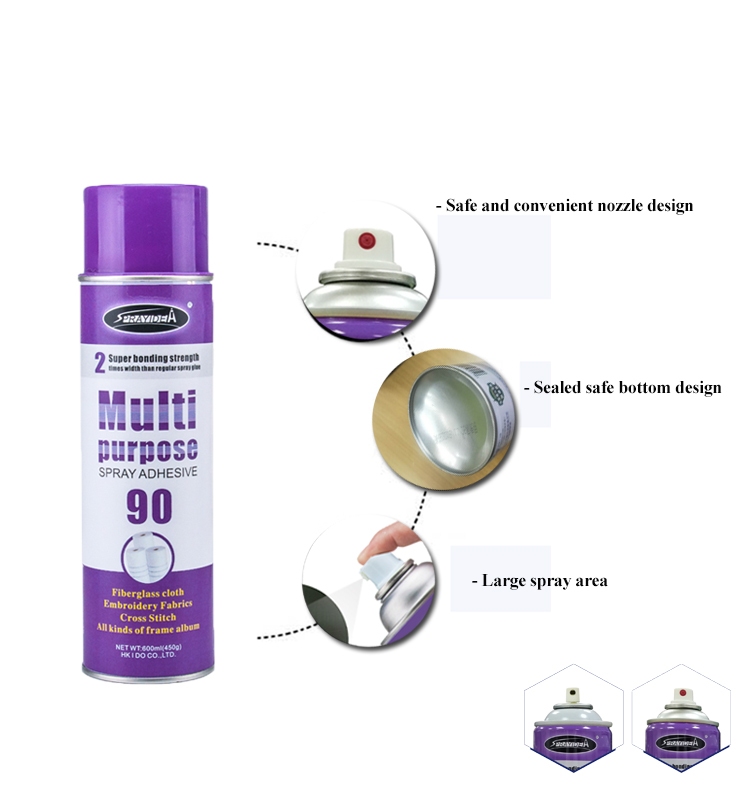Repositionable Spray Adhesive for Wall Paper Spray