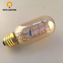 Quality Assurance Filament 120V T45 3W E27 LED Light Bulb