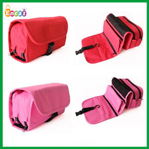 Encai New Design Travel Hanger Toiletries Bag/Portable Cosmetic Bag/High Quality Bath Organizer Bags