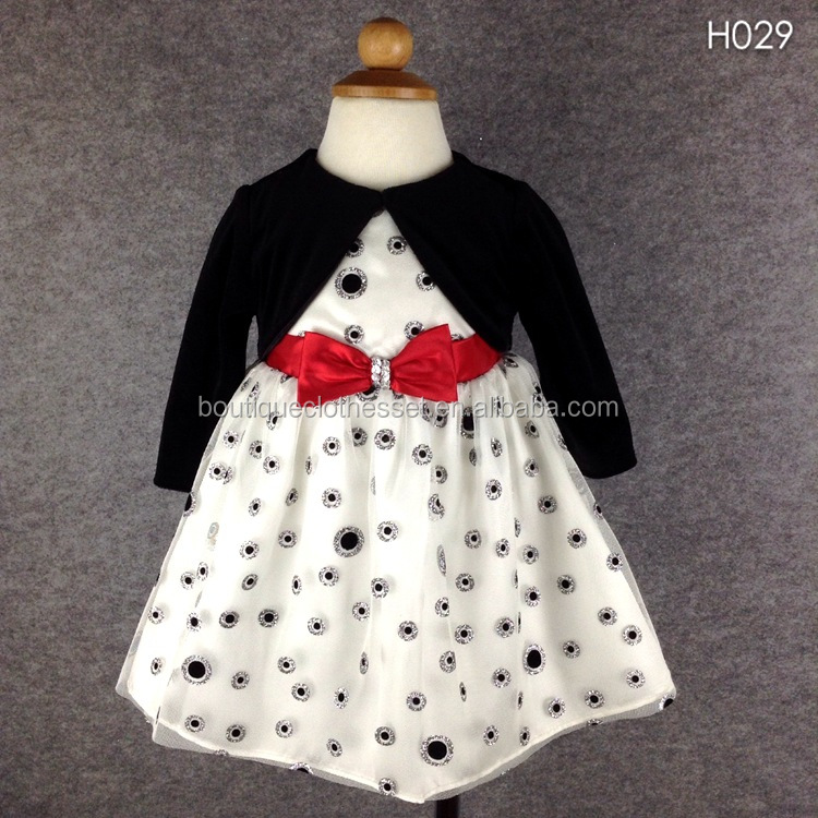 whoelsale fancy dresses for girls boutique girl clothing name brand dress with caps