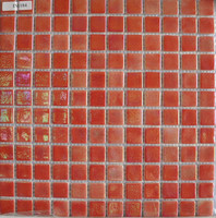 Recycle Glass Mosaic for swimming pool euro tiles