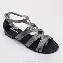 breathe freely new model fashion flat summer sandals 2016 for women