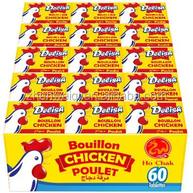 10g*60*24 CHICKEN POULET BOUILLON CUBE CHICKEN SEASONING CUBE CHICKEN SOUP CUBE