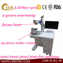 LXFiber-30w agents required sheep ear tag laser marking machine, LINK 100*100, 200*200mm, 300*300mm laser marking machine