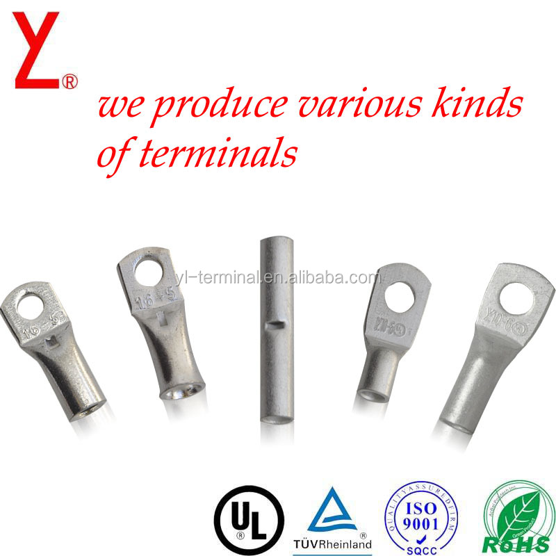 copper cable lug for battery terminal lug ring types