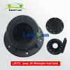 Body part fuel tank cap for jeep wrangler 2007+ ABS black oil tank J073