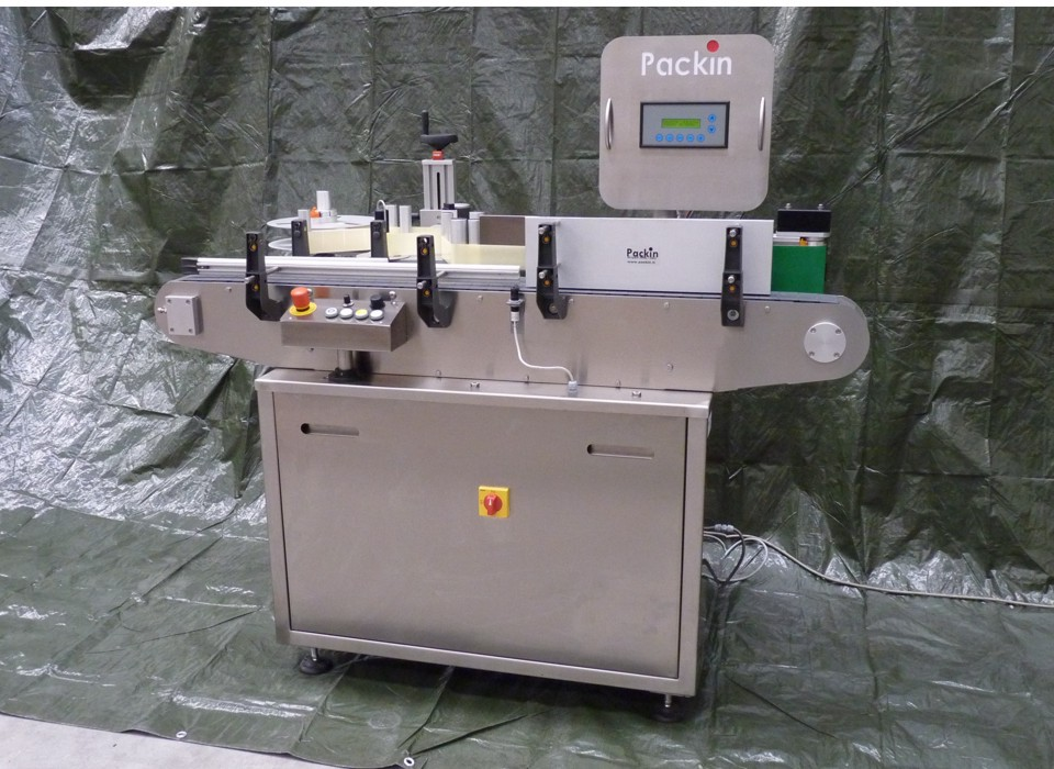 Pk Line Roto-Vertical Aautomatic labelling machine