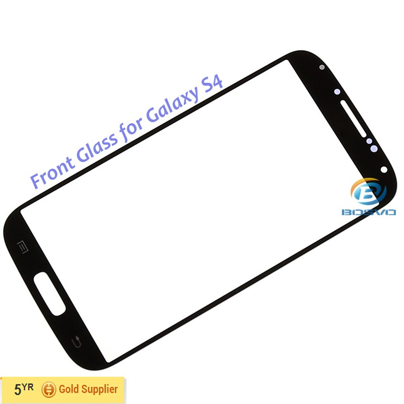 Replacement front glass screen lens For Samsung Galaxy s4