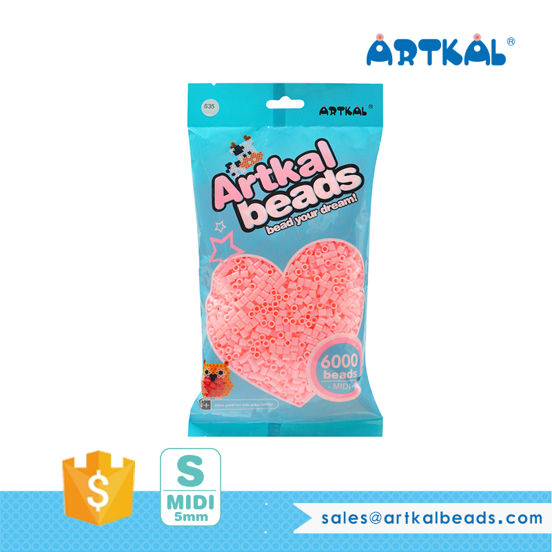 Artkal Beads 134 colors Midi S-5mm Iron Beads Toys for <strong>Kids</strong> SB6000P-S