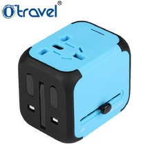 otravel wholesale gift 2 port universal wireless mobile phone portable charger