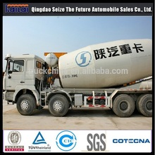 Shacman F2000 concrete mixer truck for sale in dubai concrete truck mixer price